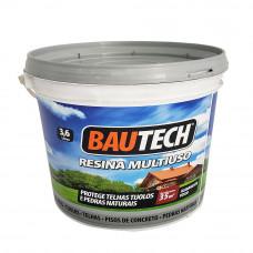 Resina Acrílica Fosco 3,6l Bautech