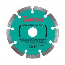 Disco de Corte CORTAG Diamantado ECO 100 x 20mm