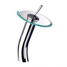 Misturador para Lavatório Monocomando Vidro Alta 1201 Carneiro