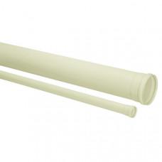 """Tubo de Esgoto Branco 4""""100mm 6M Amanco"""
