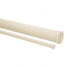 """Tubo de Esgoto Branco 3"""" 75mm 3m Amanco"""