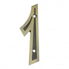 Número para Residência Zamac 1 Bemfixa