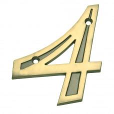 Número para Residência Zamac 4 Bemfixa