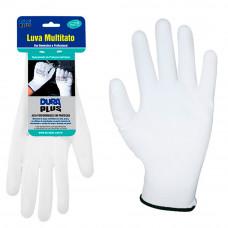 Luva Multitato Poliuretano Branca G 902017 Dura Plus