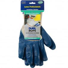 Luva Nitrilica Azul 902048 Dura Plus