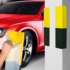 Cantoneira para Estacionamento em EVA Preta e amarela 903050 Dura Plus