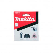 Kit de Lâminas para Multicortadora 3 Peças Piso 1 B-30586 Makita