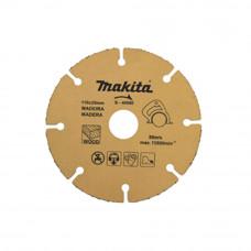Disco para Serra Mármore Corte Em Madeira 110mm B-40668 Makita