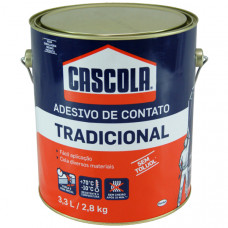 "Cascola Tradicional Lata com 2,8kg HENKEL # venda proibida para menores de 18 anos # ""Lei Estadual 6210-02/11/88 SP"" # ""RDC Nº 345-15/12/2005"""