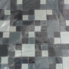 Pastilha de Vidro Mix Grey 30 x 30 La Bella