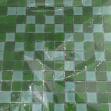 Pastilha de Vidro Mix Green 30 x 30cm La Bella