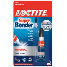 Adesivo Instantâneo SUPER BONDER Original 3g - LOCTITE