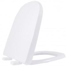 Assento em Polipropileno com Soft Close Branco para Etna ASTE00SC Tupan