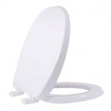 Assento Oval em Polipropileno Solution Branco AUSPP00CV Tupan
