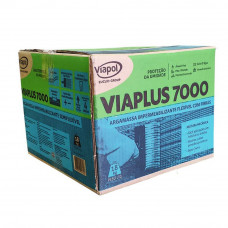 Viaplus 5000 Argamassa Impermeabilizante Fibras 18 kg Viaplus