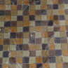 Pastilha de Vidro Mix Brown 30 x 30cm La Bella