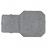 Bloquete Raquete NATURAL 19,5X6,0 M²
